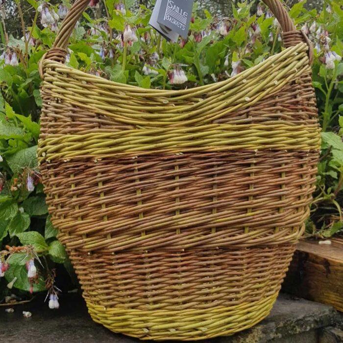 heart shaped round shooper basket
