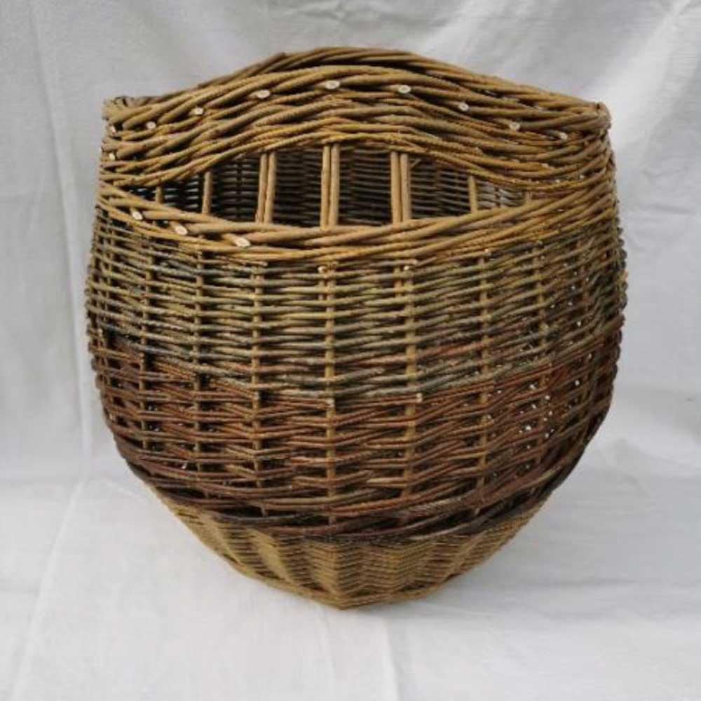 medium bowl log