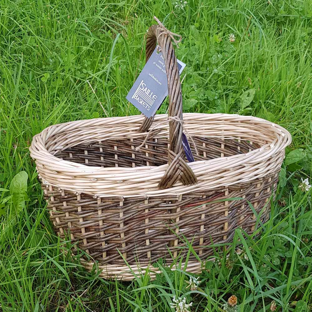 oval shopper clasic saille baskets